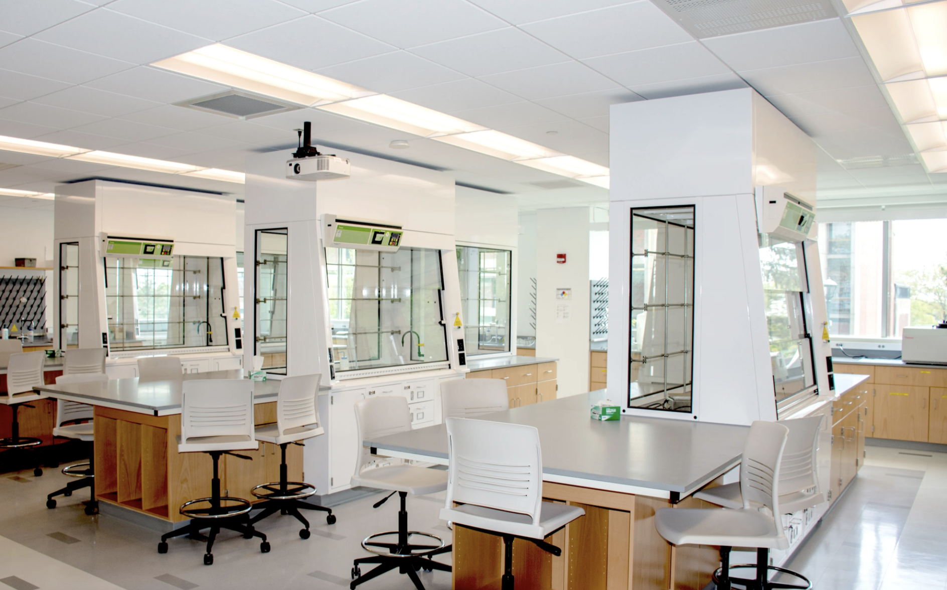 Safety, LEED, & Cost Saving Solutions for STEM Initiative at Framingham State University